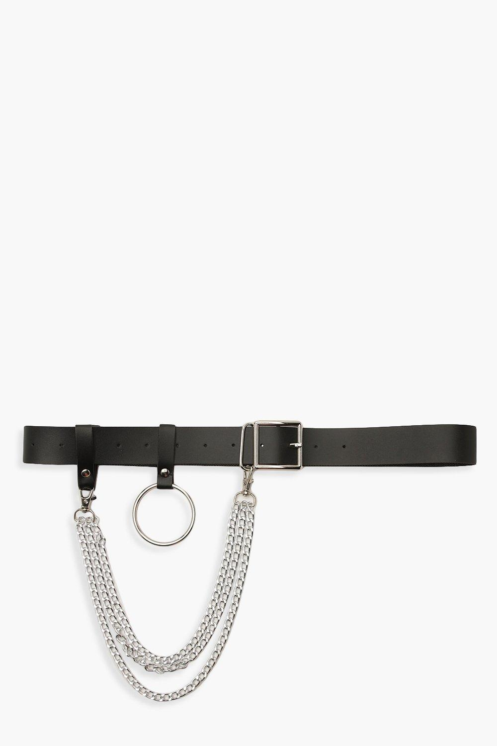 Plus Waist O Ring Chain Belt