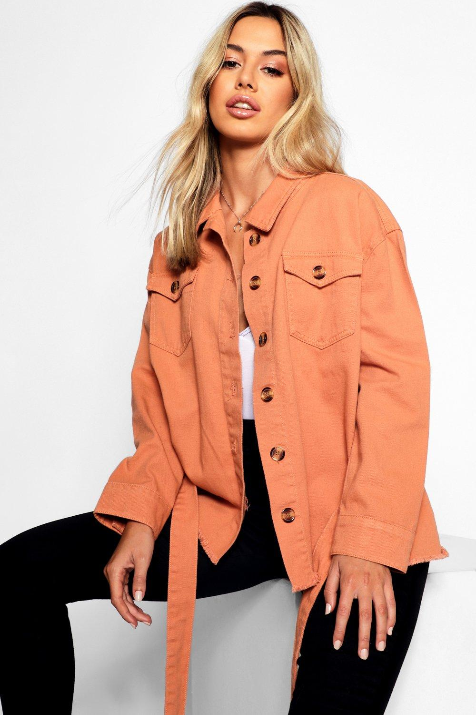 Купить Coats & Jackets, Жакет из твила с карманом и поясом из коллекции <Petite>, boohoo