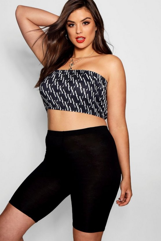 Plus Diagonal Repeat Print Bandeau