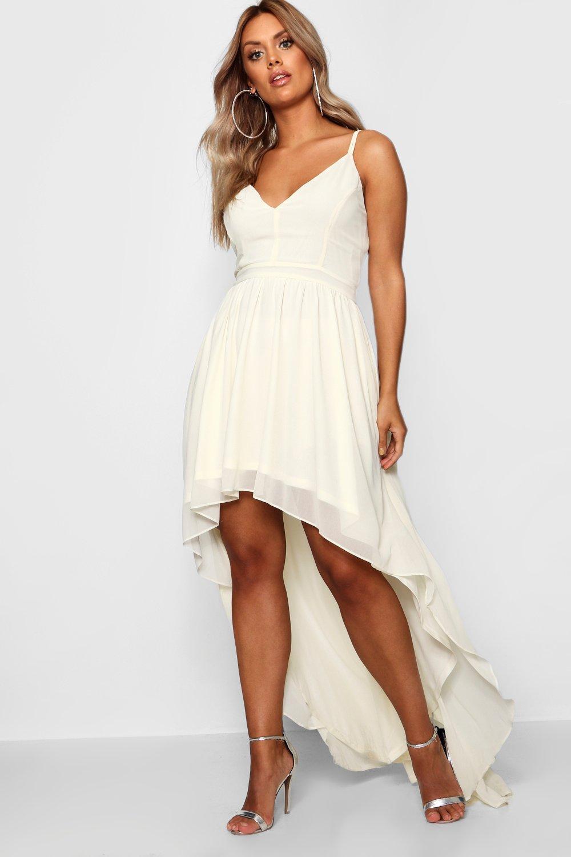 Купить Dresses, Нарядное платье с удлиненным подолом сзади большого размера плюс, boohoo