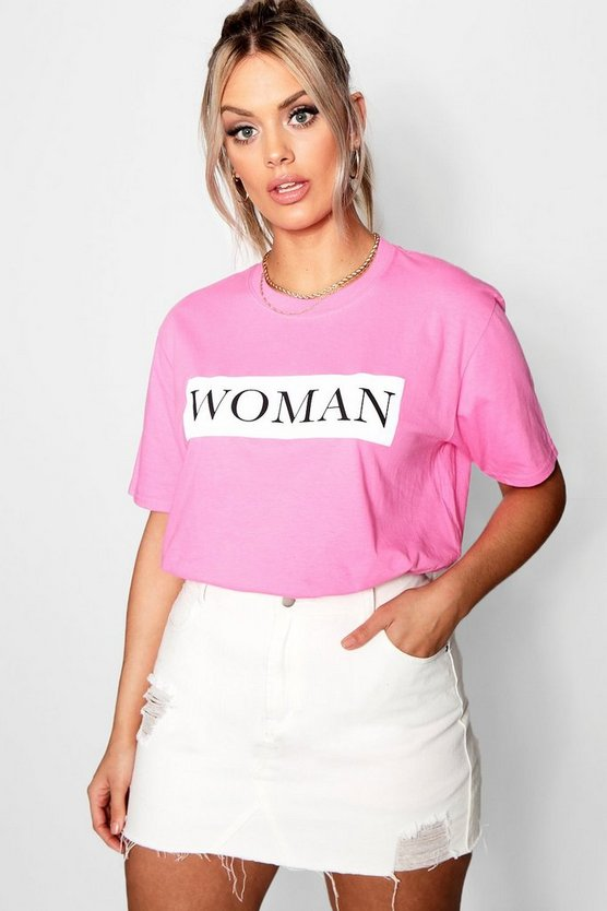 Plus Woman Oversized T-Shirt