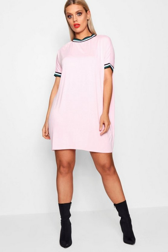 Plus Josie Sports Oversized T Shirt Dress