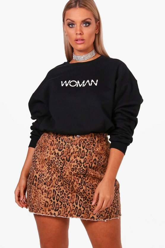 Top Sweat femme Plus