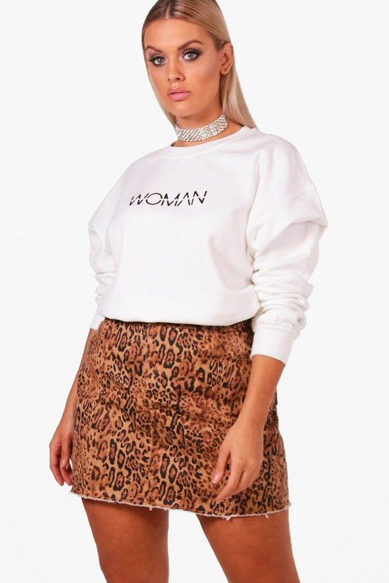 Plus Woman Sweat Top
