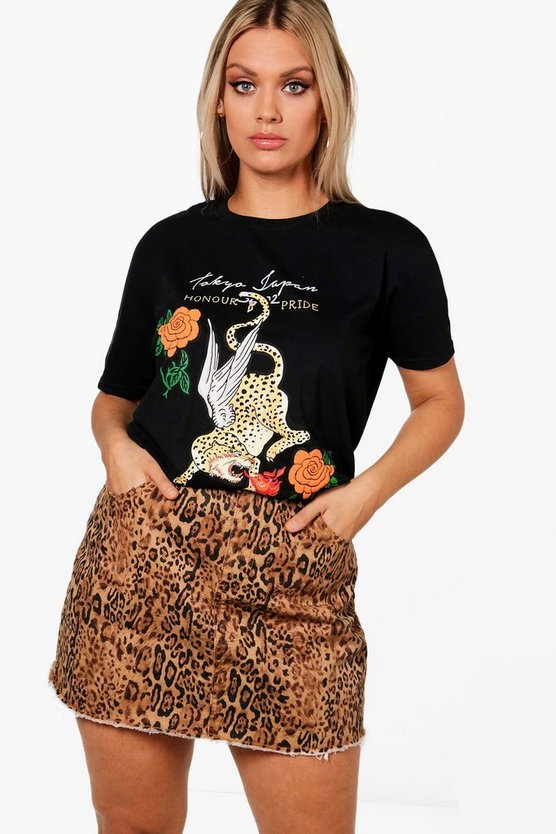 Plus Rosie Printed T-Shirt