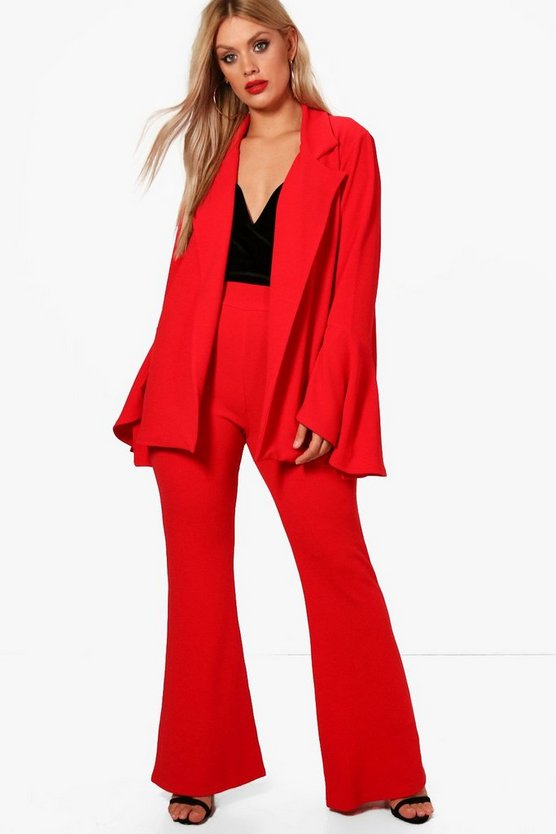 Plus Helena Flare Trouser
