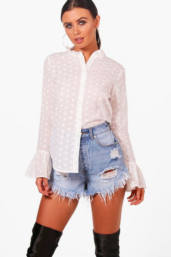 Petite Isla Blouse Broderie Anglaise