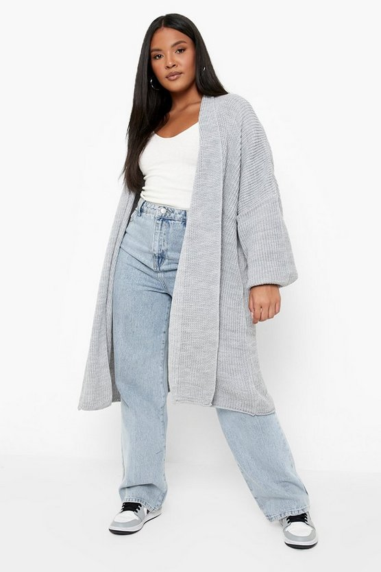Plus Holly Oversized Chunky Cardigan