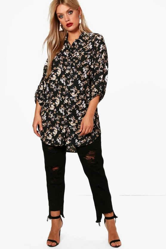 Plus Lucie Oversized Shirt