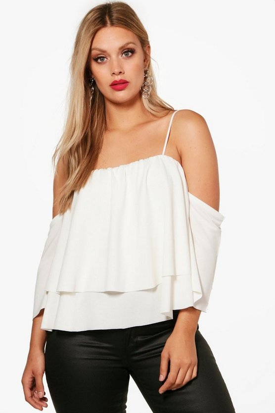 Plus Reanne Double Layer Top