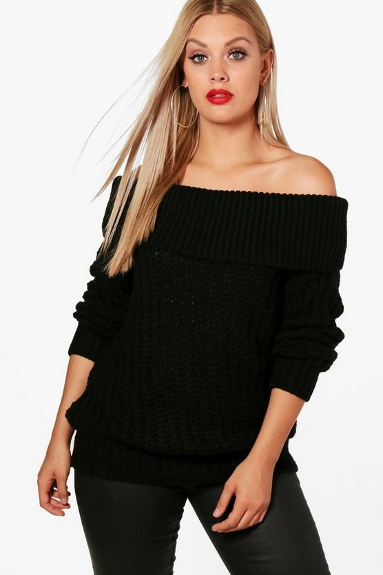 Plus Nina Chunky Knitted Jumper