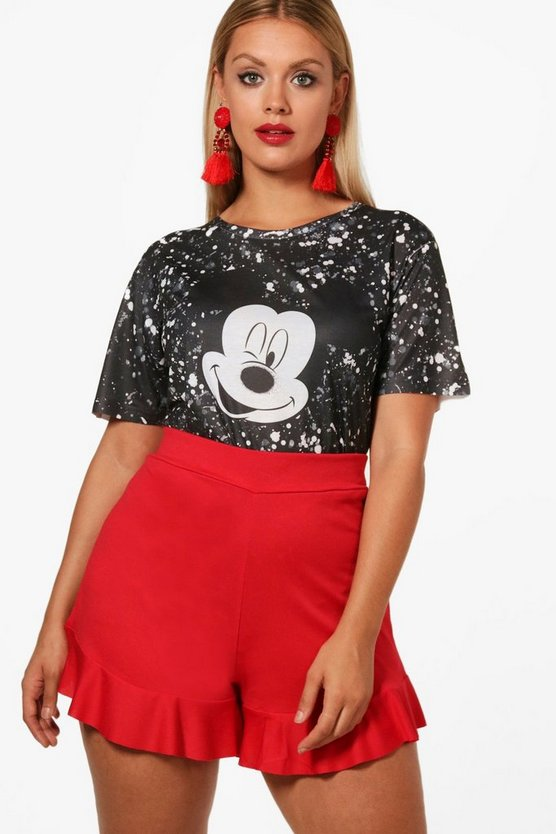 Plus Ellie Disney Mickey Splatter Tee