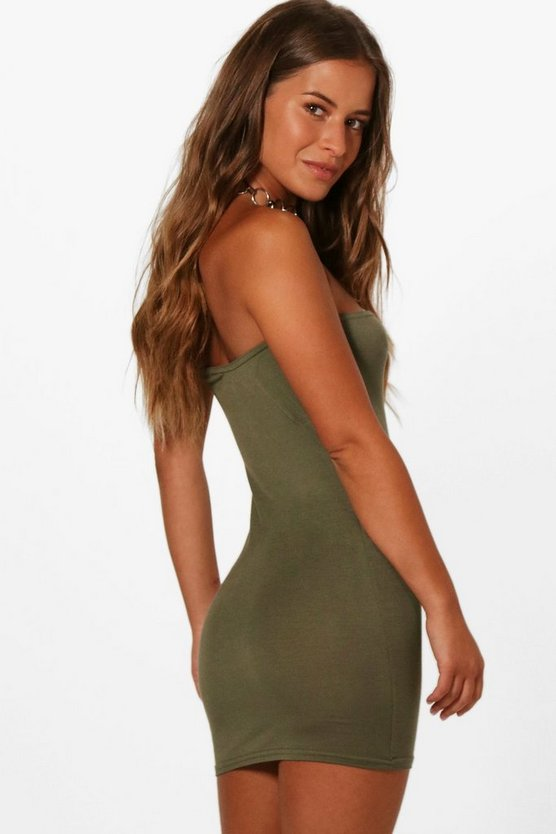 Petite Rhianne Basic Tube Dress