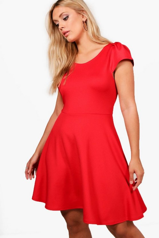 Plus Aimee Skater Dress