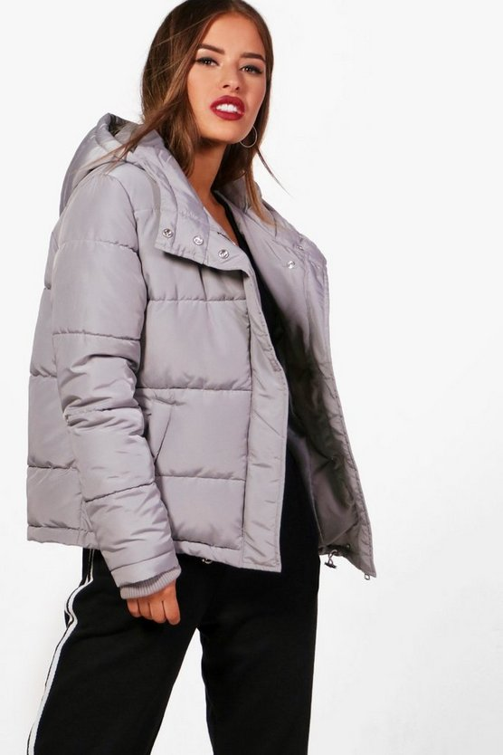 Petite Heidi Hooded Padded Coat
