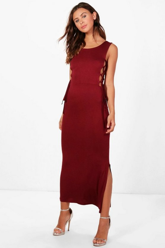 Petite Amy Tie Detail Side Dress