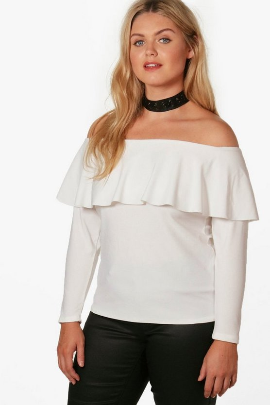 Plus Jodie Double Layer Top