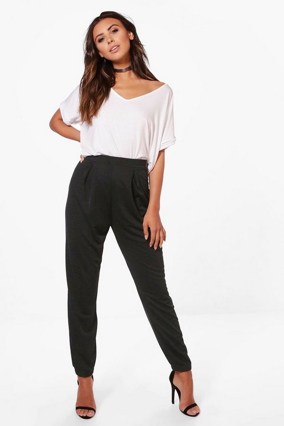 Petite Emma Tapered Loose Fit Trouser