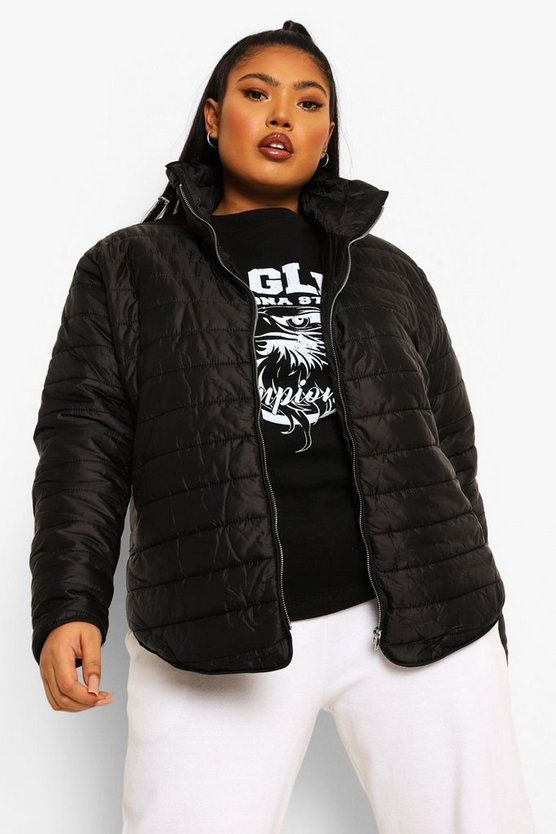 Plus Hollie Padded Short Jacket