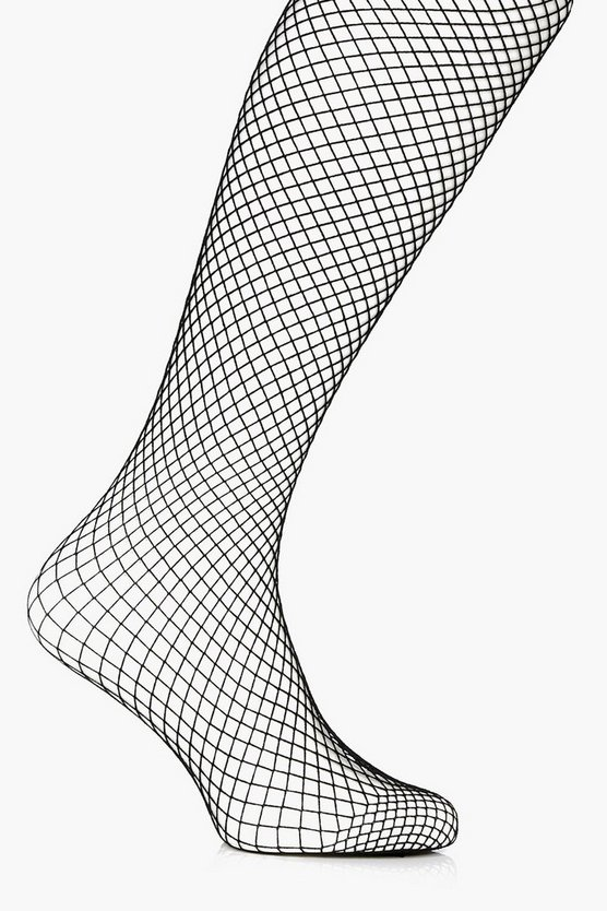 Plus Olivia Fishnet Tights