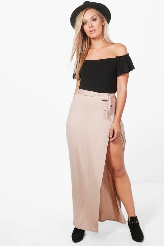 Plus Alice Maxi Wrap Skort