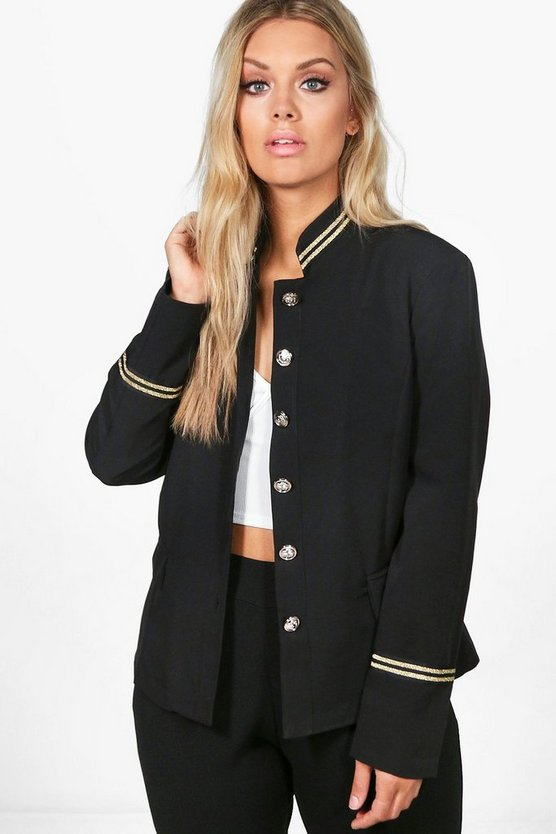 Plus Whitney Military Blazer