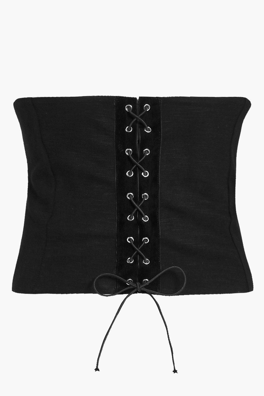 Jenna Premium Corset - black - Plus Jenna Premium