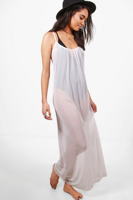 Petite Annie Oversize Maxi Cover Up Dress