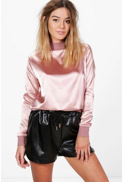 Petite Lisa Oversized Premium Sweat