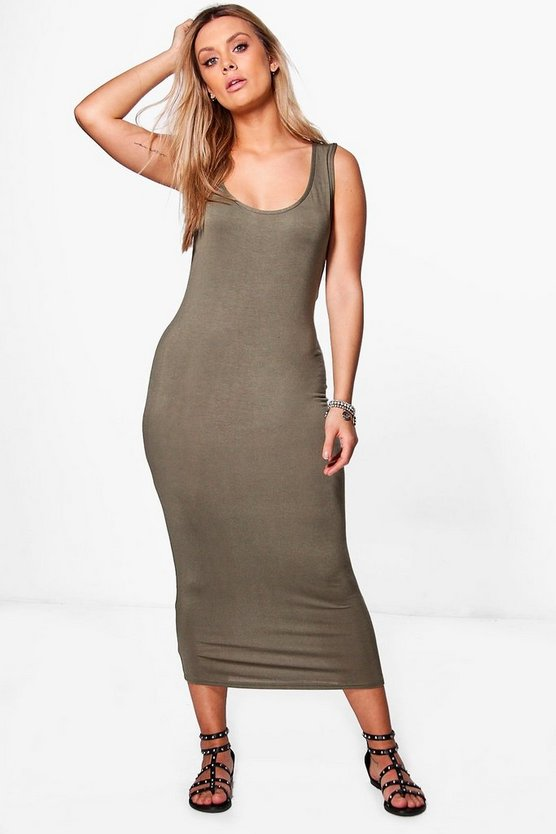 Plus Jane Basic Midaxi Dress