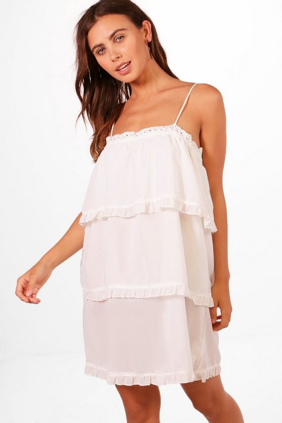 Petite Holly Strappy Tier Sundress