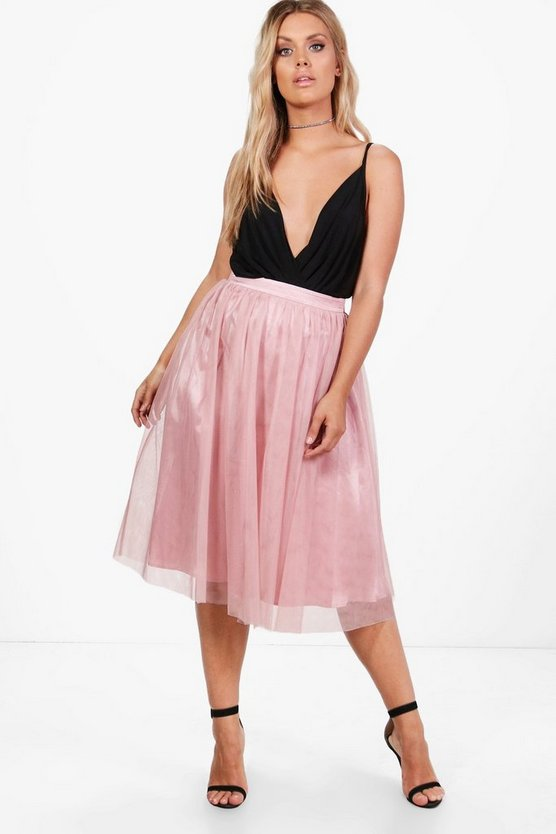 Plus Charlotte Twille Skirt