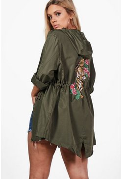 Plus Lydia Printed Back Mac