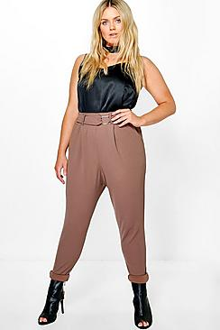 Plus Charl D Ring Pleat Front Trouser