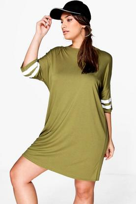 Whether you go for a sports-luxe, floral or slogan dress, you'll be sure to look hot in any number of our super-flattering t-shirt dresses. Go oversized tee dress for the ultimate relaxed styling, teamed with high-top trainers and frilly socks, or choose a sheer number for a chic and understated look which you can take from desk to date.