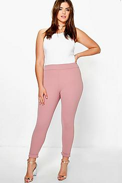 Plus Liv Turn Up Cuff Trouser