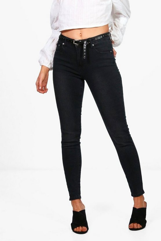 Petite Luci High Rise Skinny Jeans