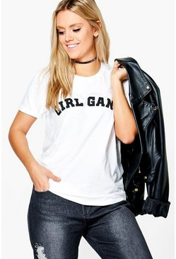"Plus Robyn """"Girl Gang"""" T-shirt"
