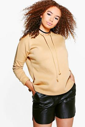 Plus Amelia Oversize Sweat Top