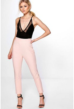 Petite Carly Side Zip Tailored Trouser
