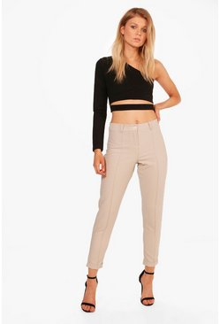 Petite Caitlin Turn Up Tailored Woven Trousers