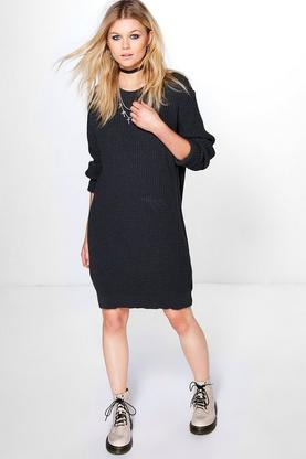 Petite Emma Soft Knit Jumper Dress