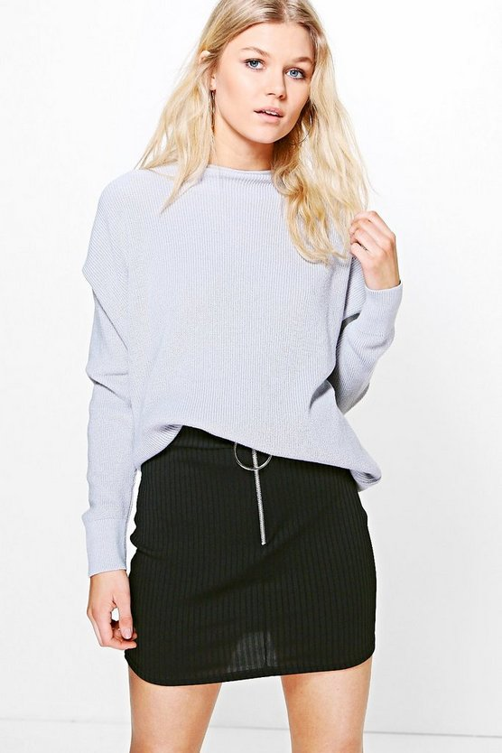 Petite Olivia Oversized Knitted Jumper
