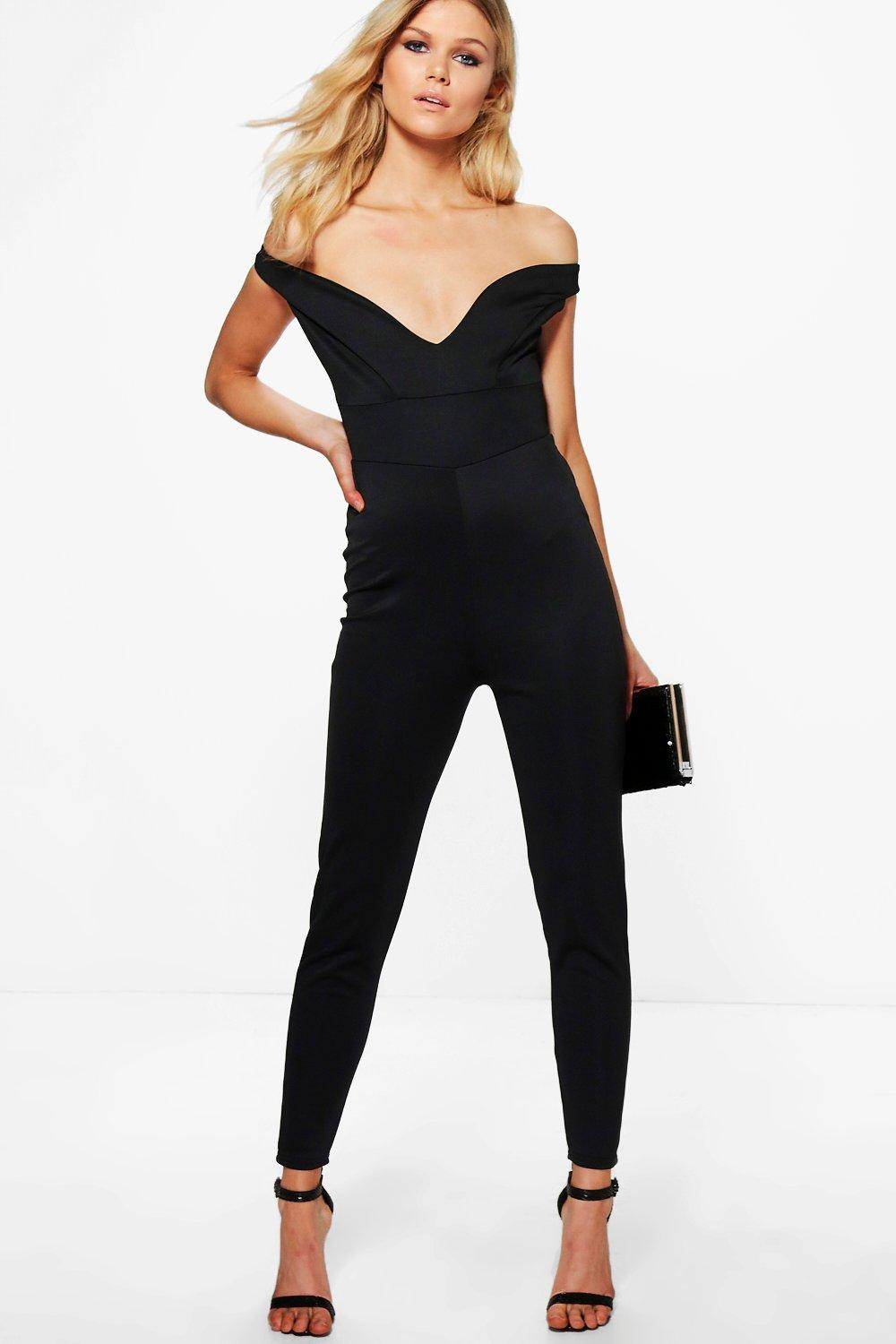 Petite Amy Off The Shoulder Jumpsuit