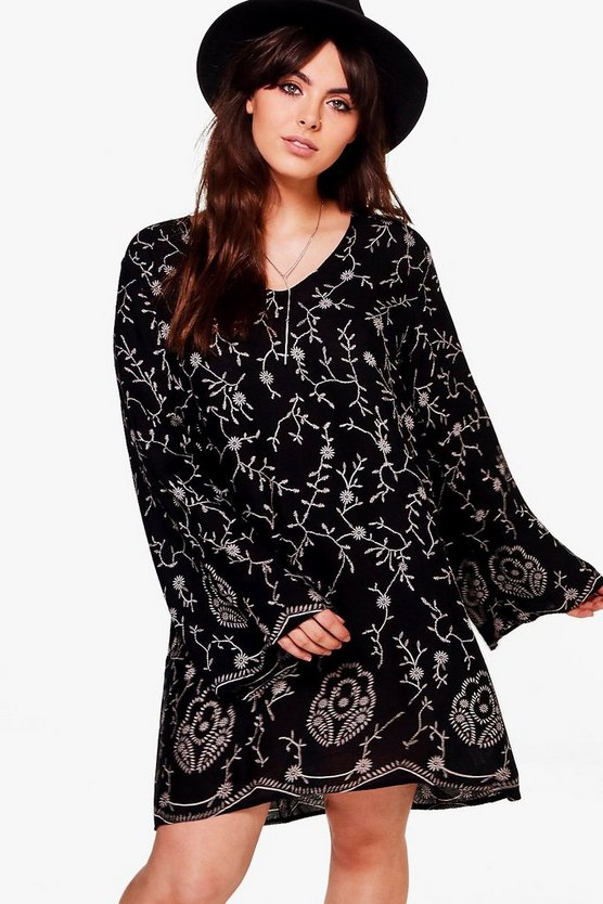 Plus Jessica Printed Shift Dress