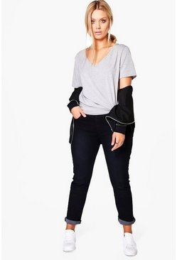 Plus Charis Black Denim Jegging