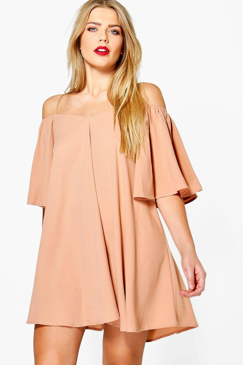 Open Shoulder Dress