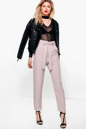 Petite Taylor High Waist Tailored Slim Fit Trouser