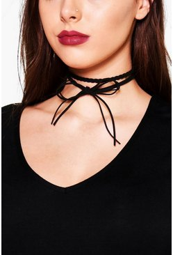 Plus Molly Plaited Choker