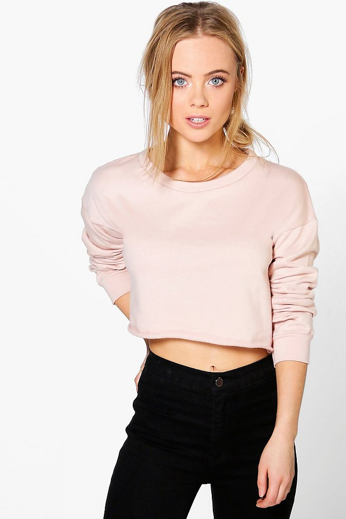 Petite Annie Cropped Sweat